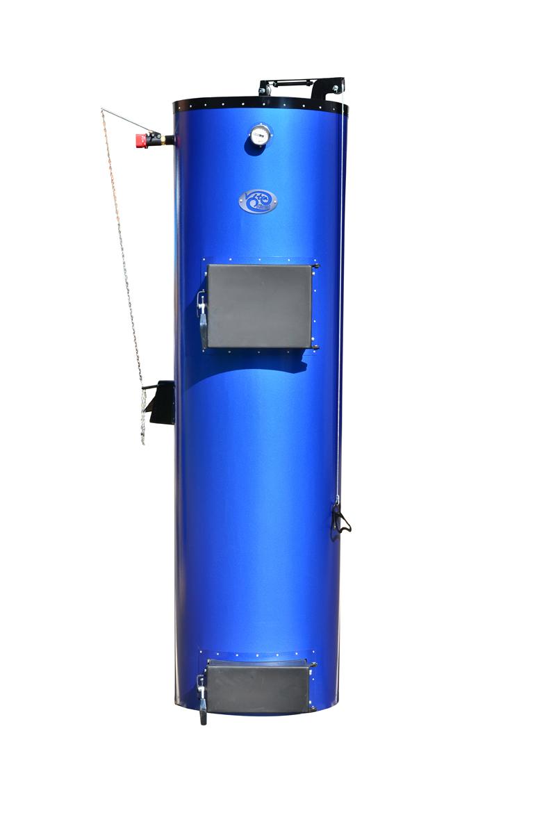 «Віта Клімат»   20 кВт  Потужність, кВт 20 Об'єм води в котлі, л45 Висота завантаження, мм1400 Діаметр завантаження, мм470 Об'єм завантаження, л260 Висота котла (з облицюванням), мм2070 Діаметр котла (з облицюванням), мм570 Маса котла, кг (не більше)250 Розмір димоходу, мм160 Від підлоги до центру труби виведення   димоходу котла, мм1690 Діаметр з'єднувальних патрубків Г / мм1,4'' Робочий тиск води в системі, MПа (кг / см 2 / не більше)180 (1,8) Максимальна температура води в котлі, (o C), не більше90 Тяга в димохід за котлом (Па)15 Рекомендована довжина дров, мм350-420
