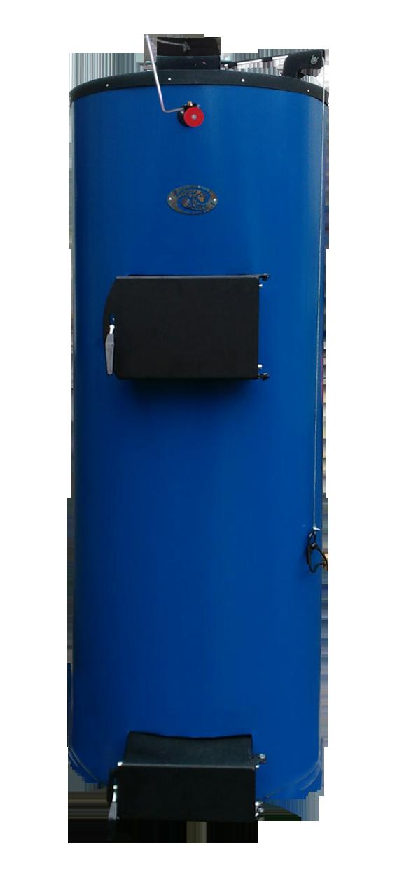 «Віта Клімат»   35 кВт   Потужність, кВт 35 Об'єм води в котлі, л53 Висота завантаження, мм1400 Діаметр завантаження, мм600 Об'єм завантаження, л400 Висота котла (з облицюванням), мм2070 Діаметр котла (з облицюванням), мм700 Маса котла, кг (не більше)340 Розмір димоходу, мм160 Від підлоги до центру труби виведення       димоходу котла, мм1690 Діаметр з'єднувальних патрубків Г / мм2'' Робочий тиск води в системі, КПа (кг / см 2 / не більше)180 (1,8) Максимальна температура води в котлі, (o C), не більше90 Тяга в димохід за котлом (Па)21 Рекомендована довжина дров, мм480-550